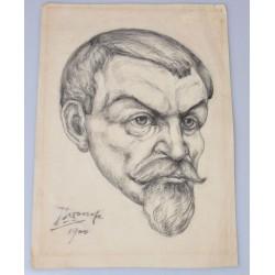 Jan Toorop 1900 - Portret...